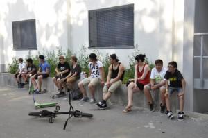 Zuschauer und Teilnehmer