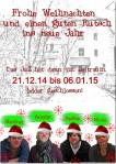 Weihnachtsgrüße aus dem JuZ-2014