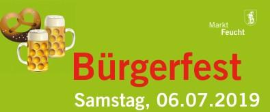 Bürgerfest 2019 Plakat