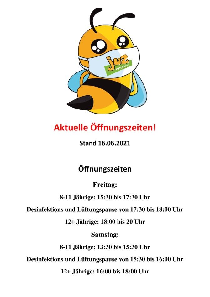 Maskenpflicht Moosbach Plakat Öffnungszeiten